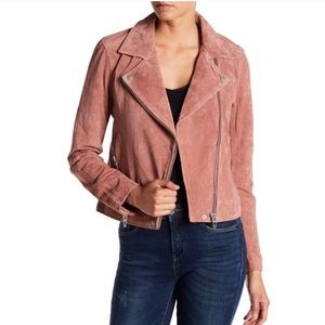 Blank NYC   Leather Suede Jacket   XS